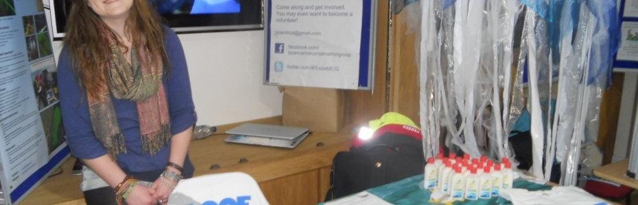 Looe Marine Conservation Group stand