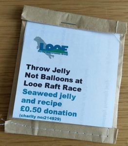 Throw Jelly Not Balloons - Looe Marine Conservation Group
