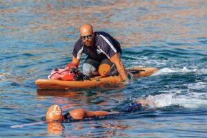 Sea swimming talk