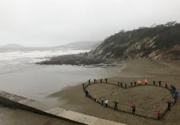 Love Your Beach. Beach clean